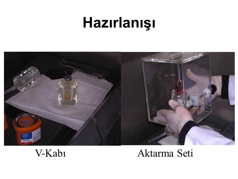 Hazırlanışı V-Kabı Aktarma Seti