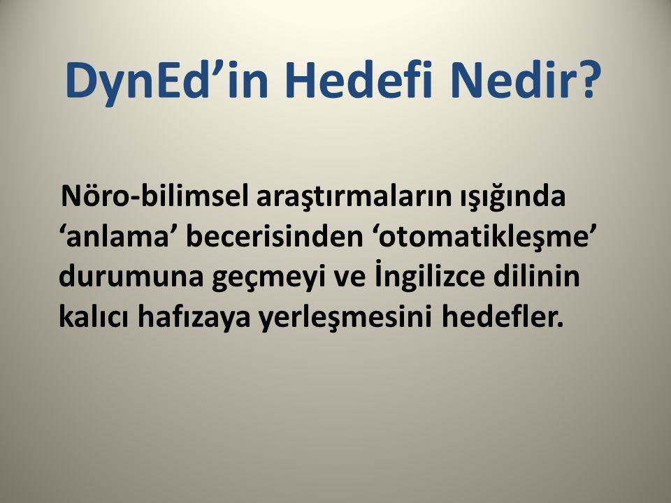 DynEd'in Hedefi Nedir