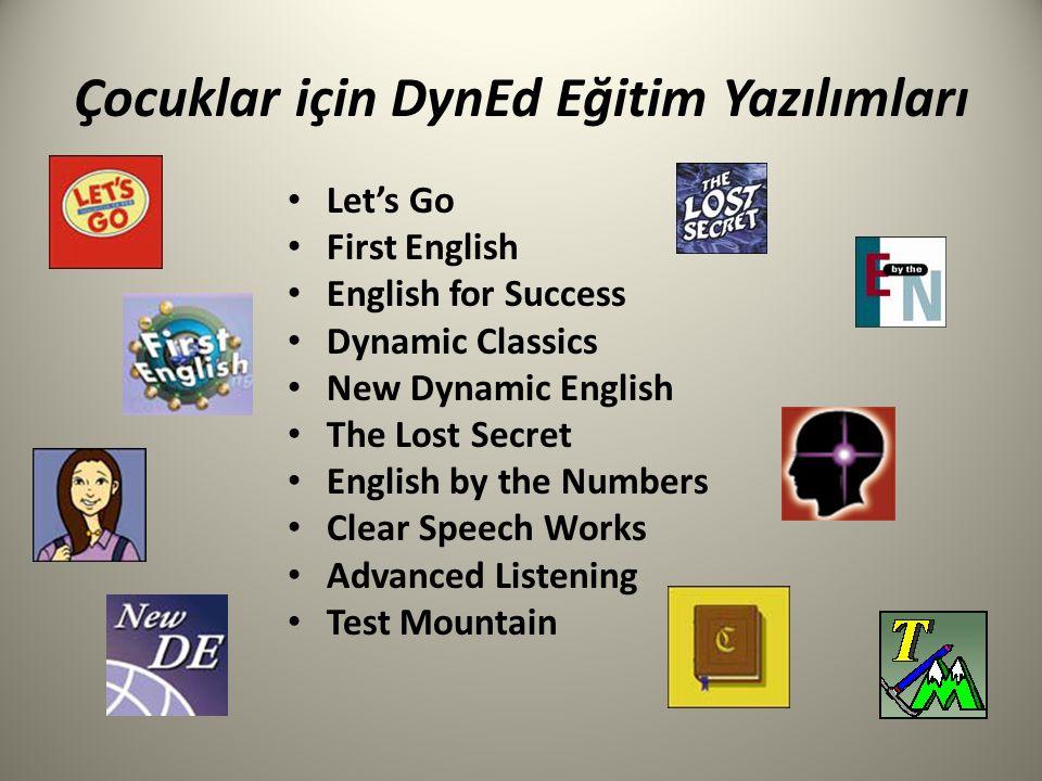 Çocuklar için DynEd Eğitim Yazılımları