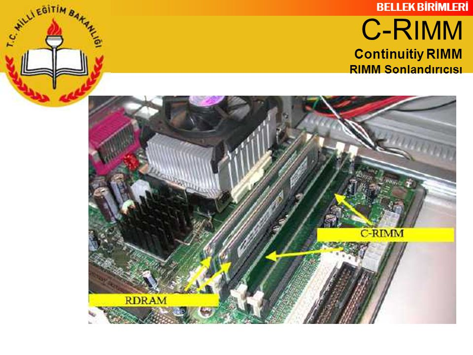 C-RIMM Continuitiy RIMM RIMM Sonlandırıcısı