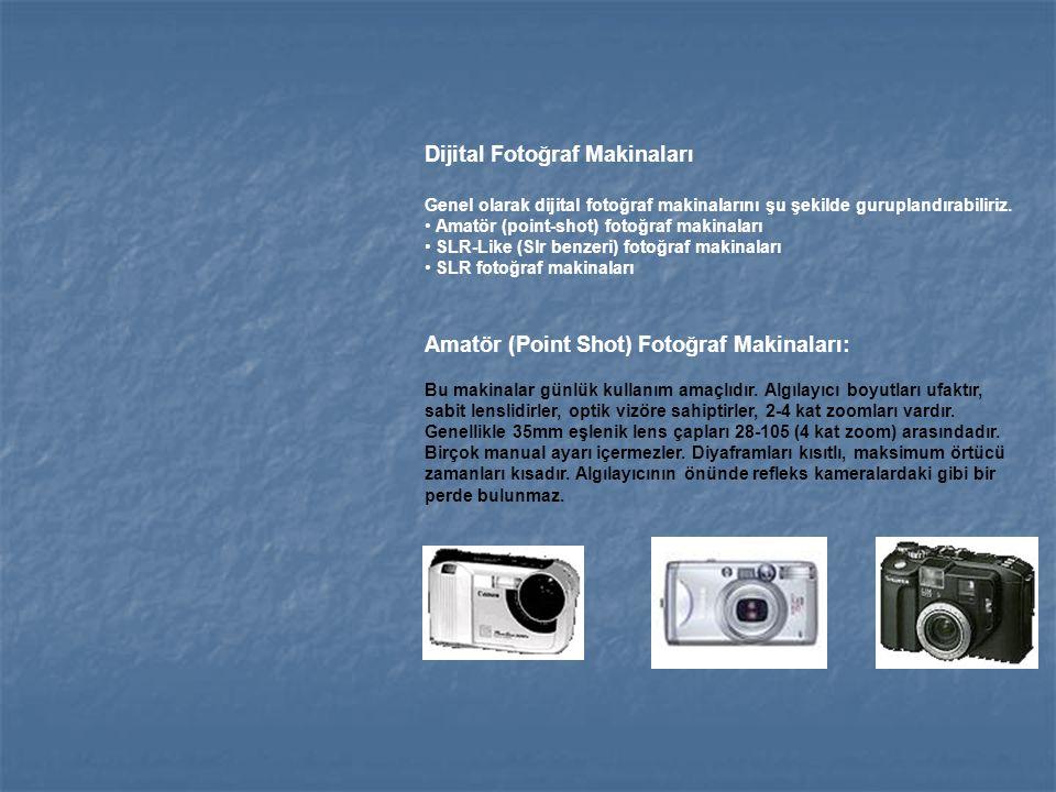 Dijital Fotoğraf Makinaları
