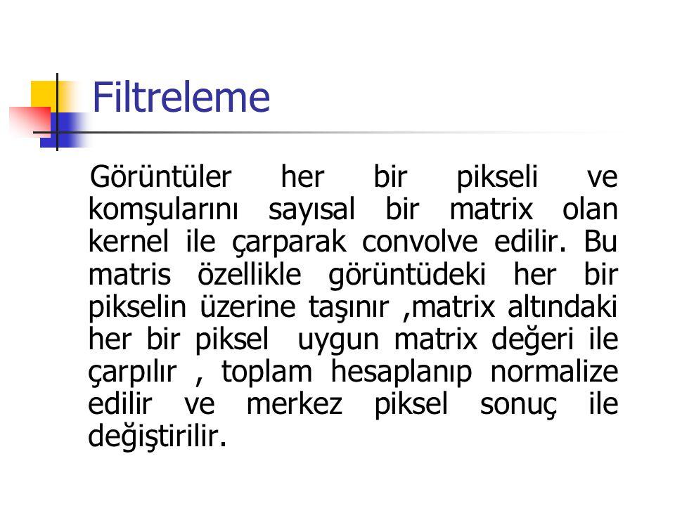 Filtreleme