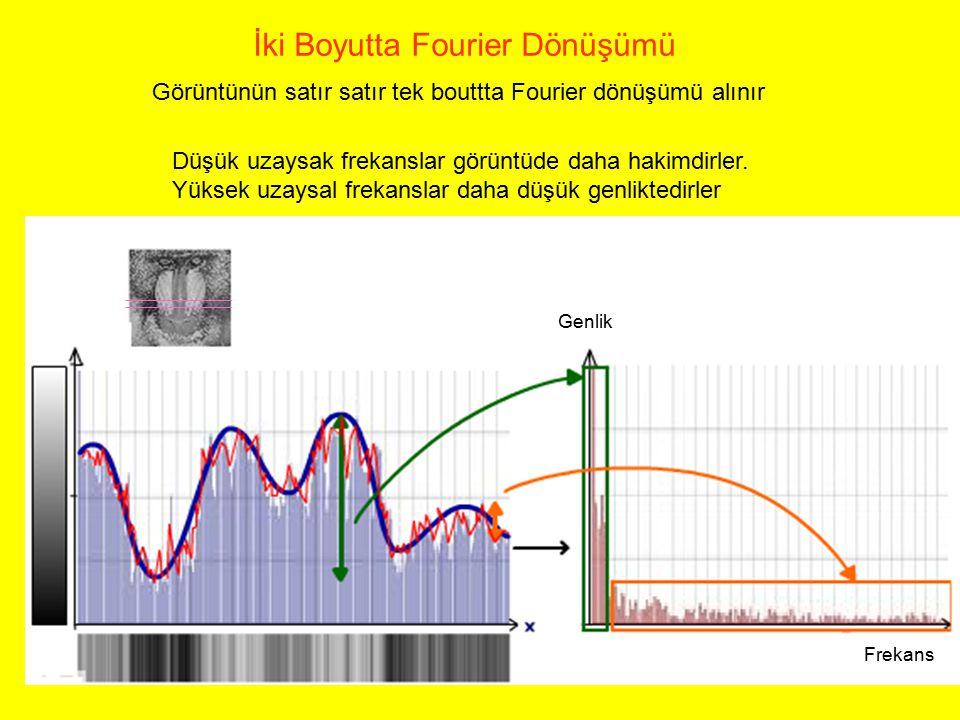 İki Boyutta Fourier Dönüşümü