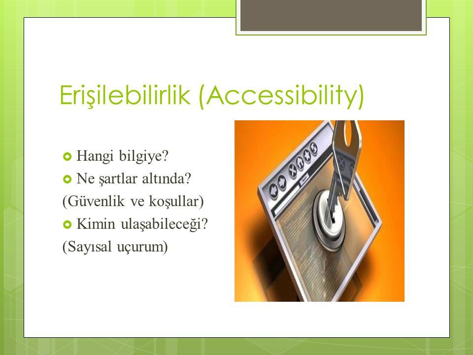 Erişilebilirlik (Accessibility)