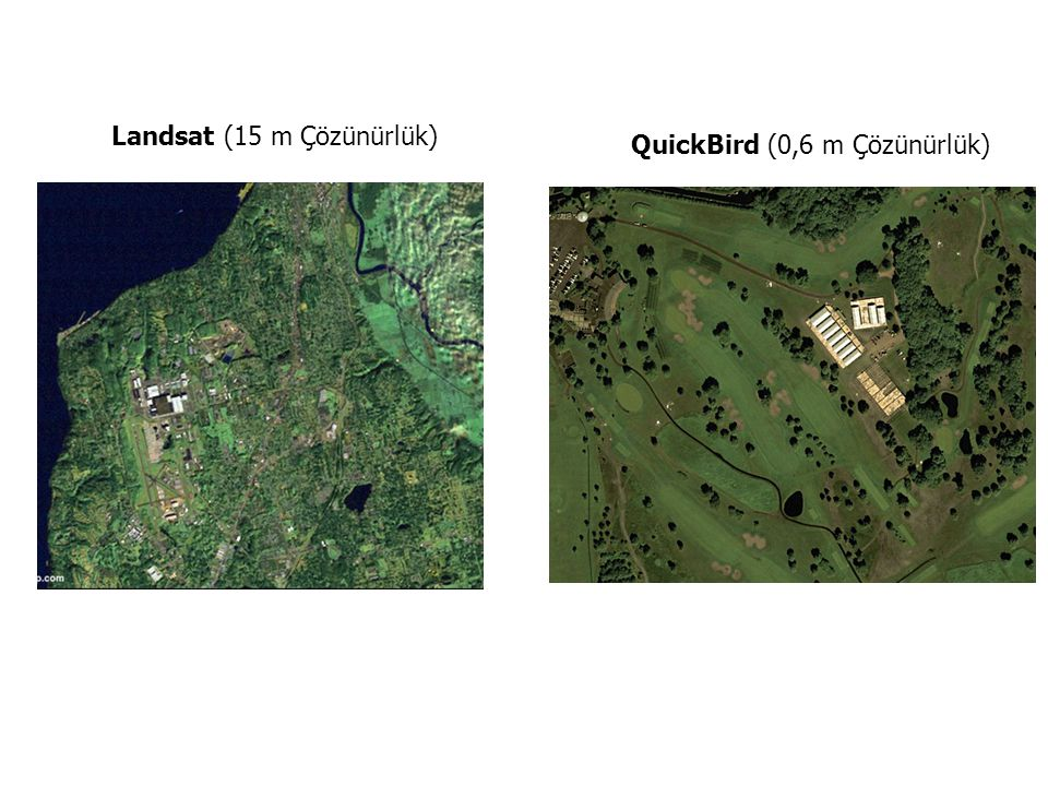 Landsat (15 m Çözünürlük)