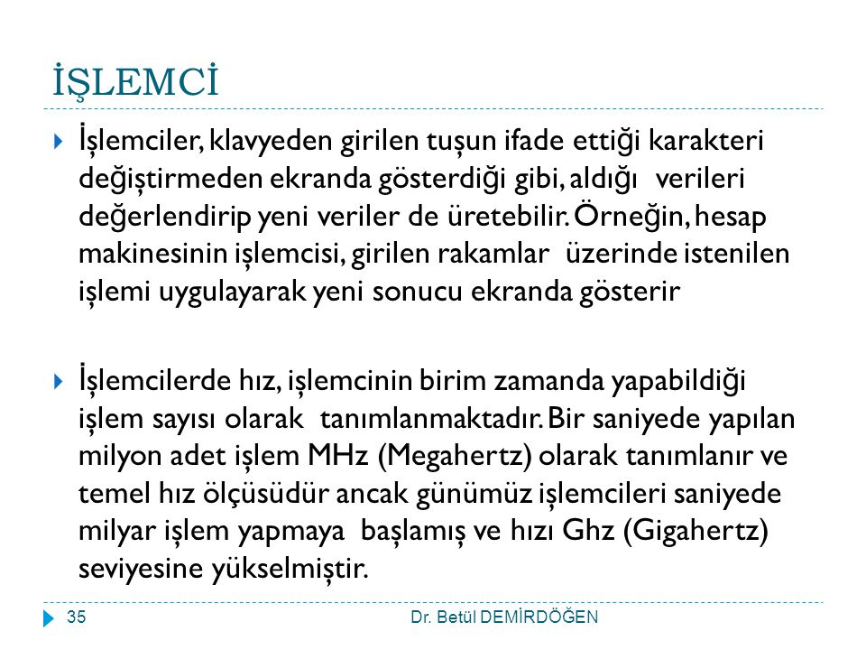 İŞLEMCİ