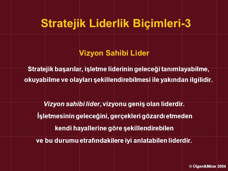 Stratejik Liderlik Biçimleri-3