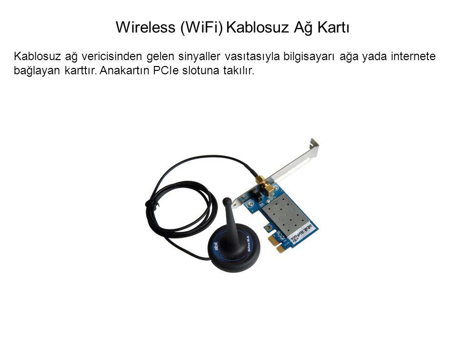 Wireless (WiFi) Kablosuz Ağ Kartı