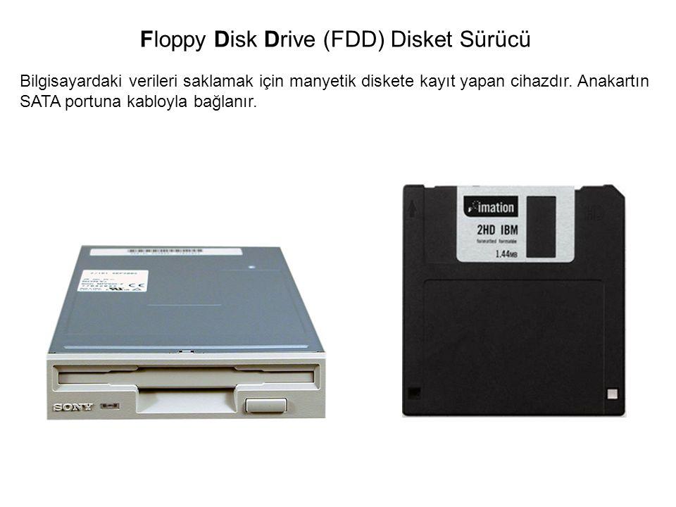 Floppy Disk Drive (FDD) Disket Sürücü
