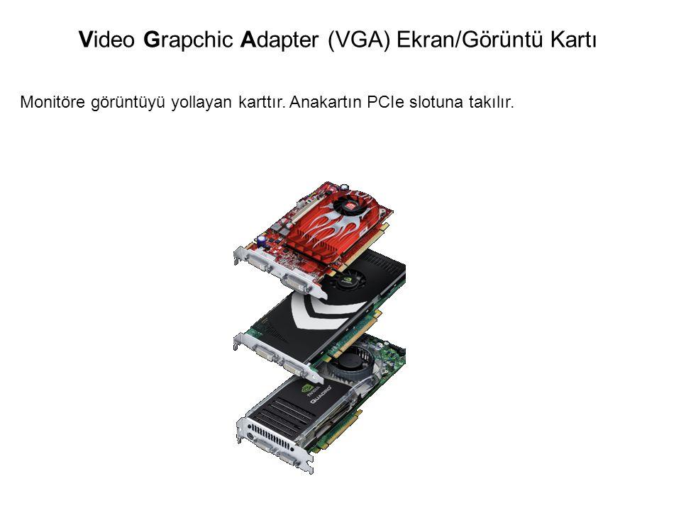 Video Grapchic Adapter (VGA) Ekran/Görüntü Kartı