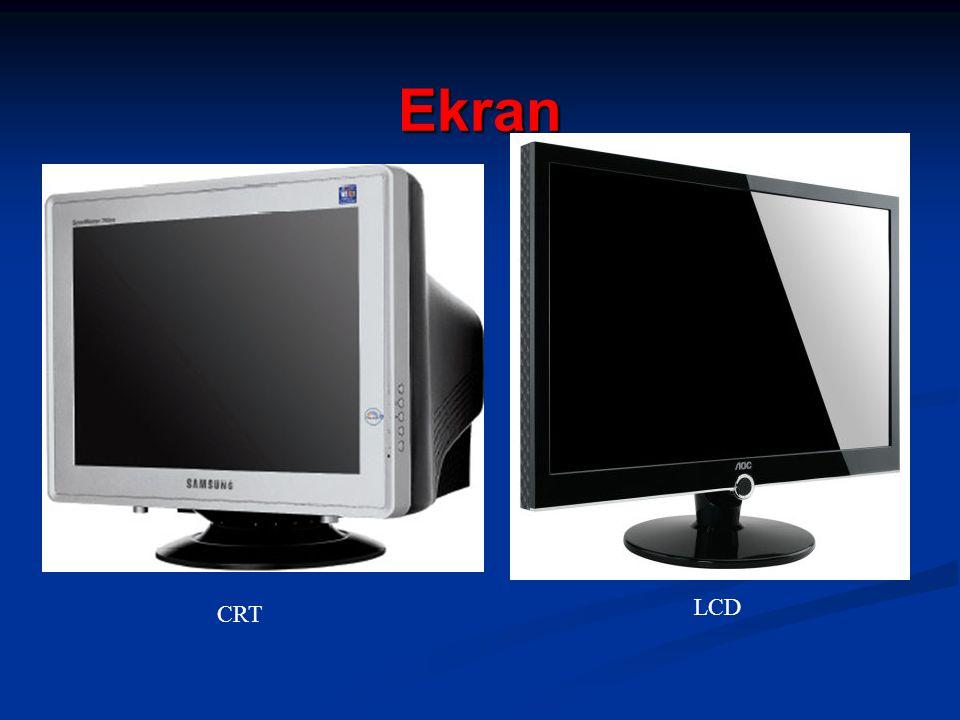 Ekran LCD CRT