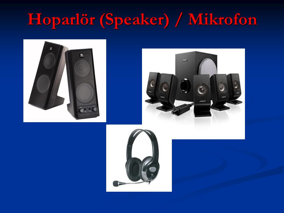 Hoparlör (Speaker) / Mikrofon