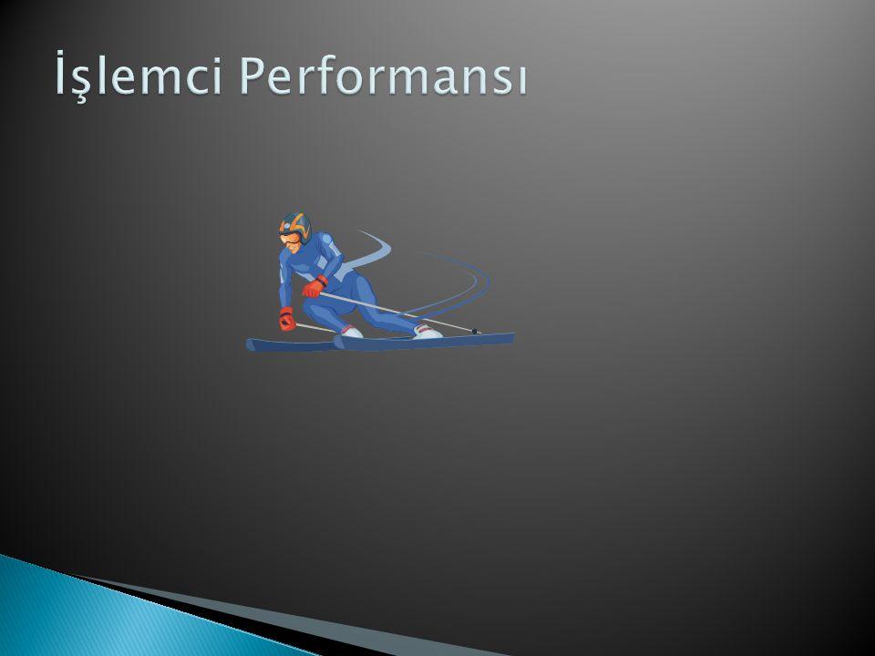 İşlemci Performansı