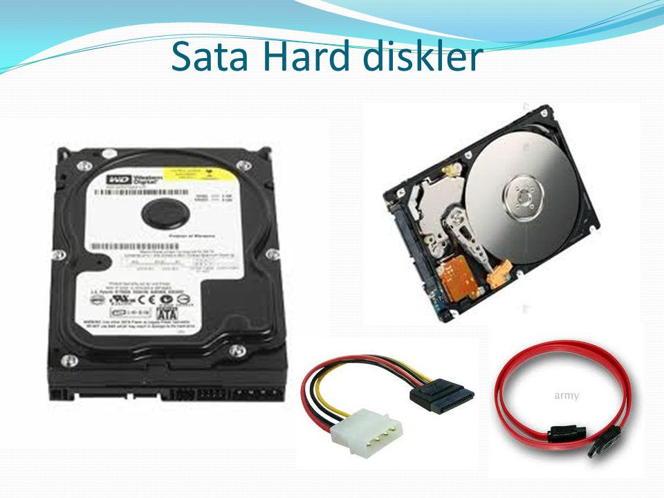 Sata Hard diskler