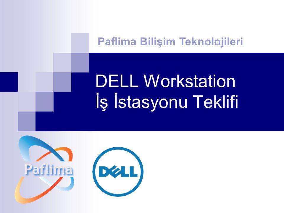DELL Workstation İş İstasyonu Teklifi