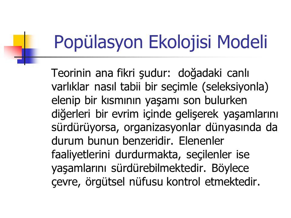 Popülasyon Ekolojisi Modeli