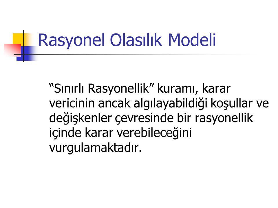 Rasyonel Olasılık Modeli