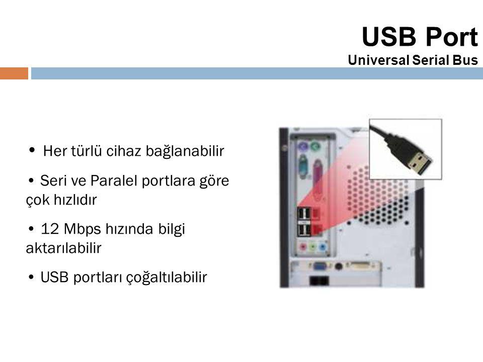 USB Port Universal Serial Bus