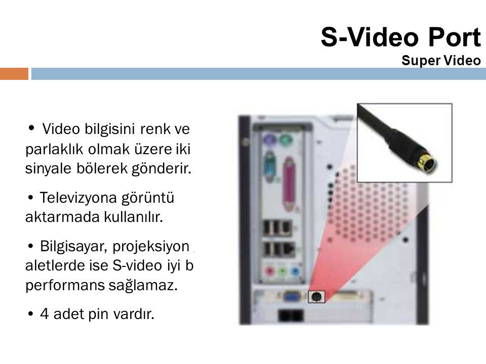 S-Video Port Super Video