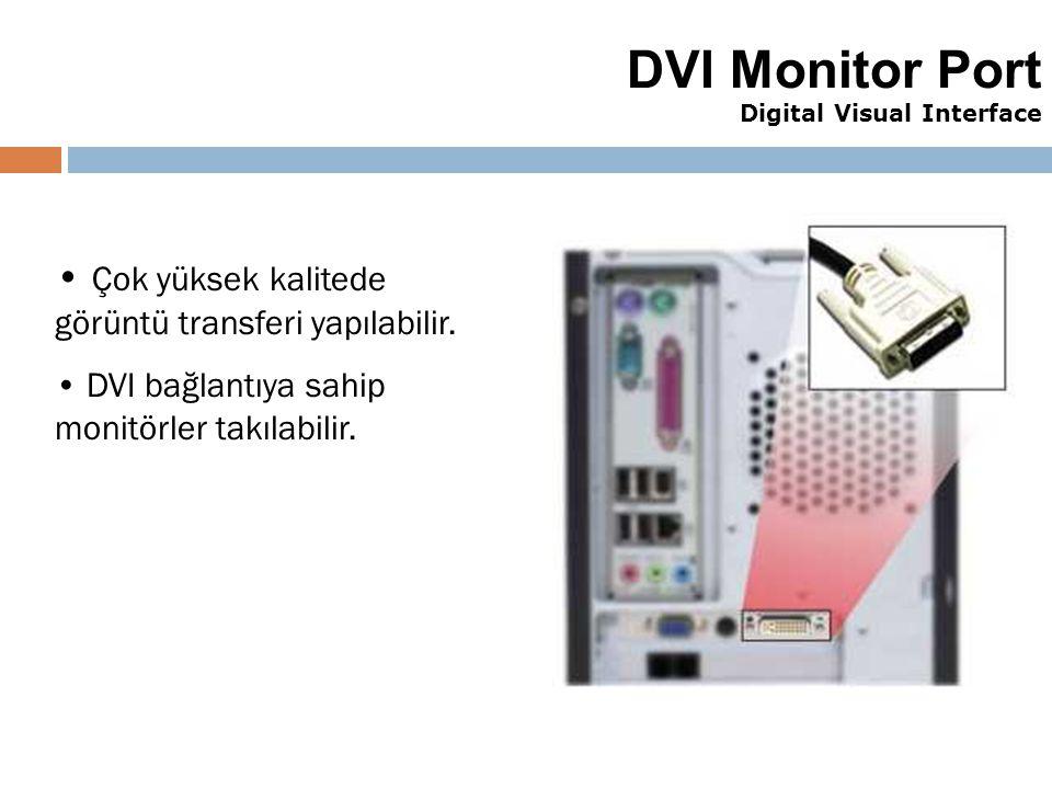 DVI Monitor Port Digital Visual Interface