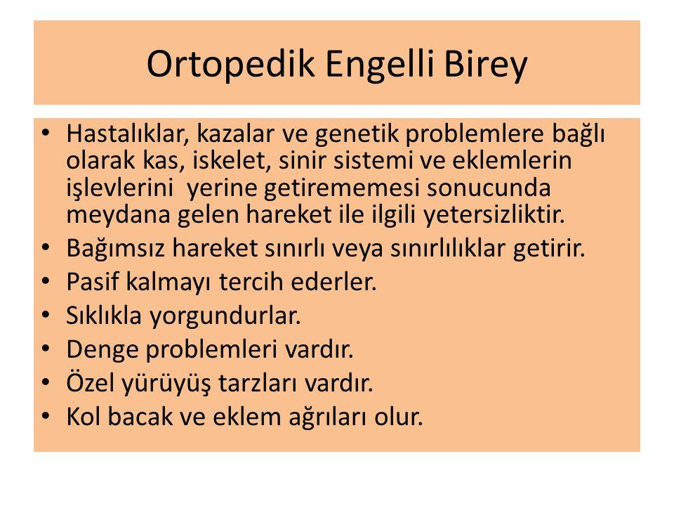 Ortopedik Engelli Birey