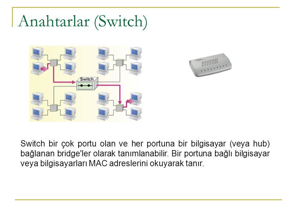 Anahtarlar (Switch)