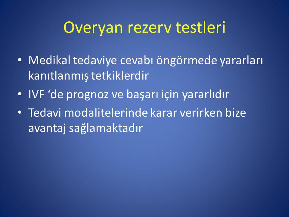 Overyan rezerv testleri