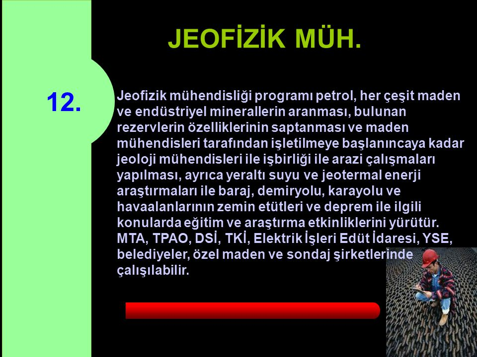 JEOFİZİK MÜH. 12.