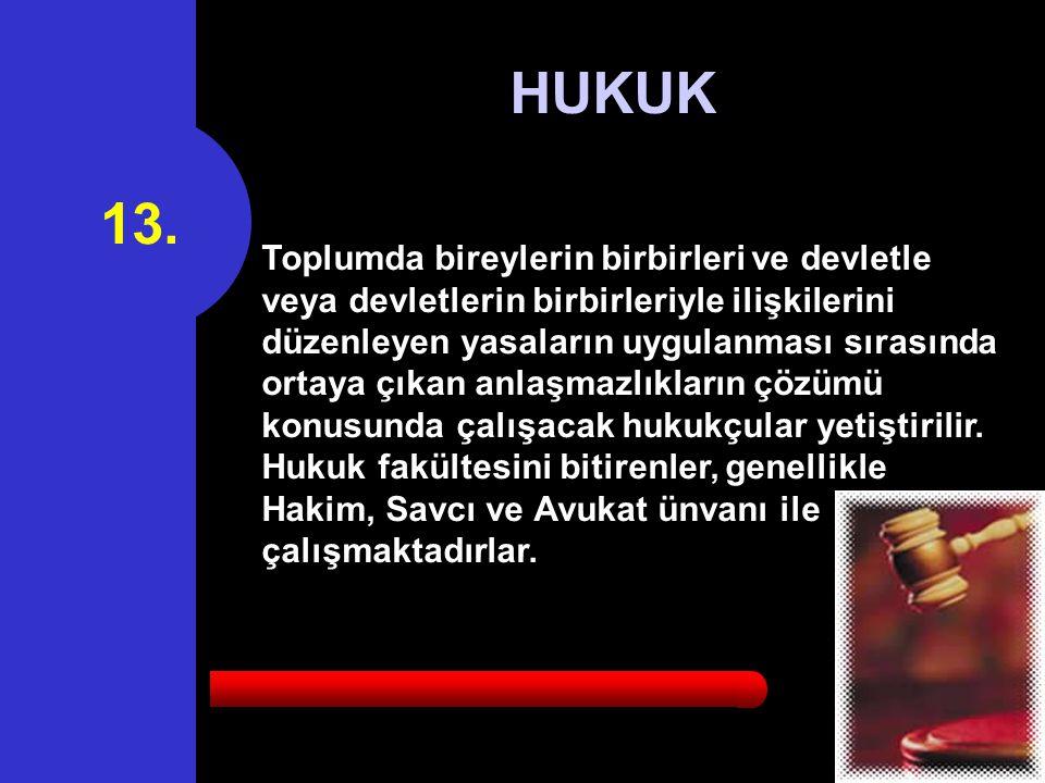 13. HUKUK.