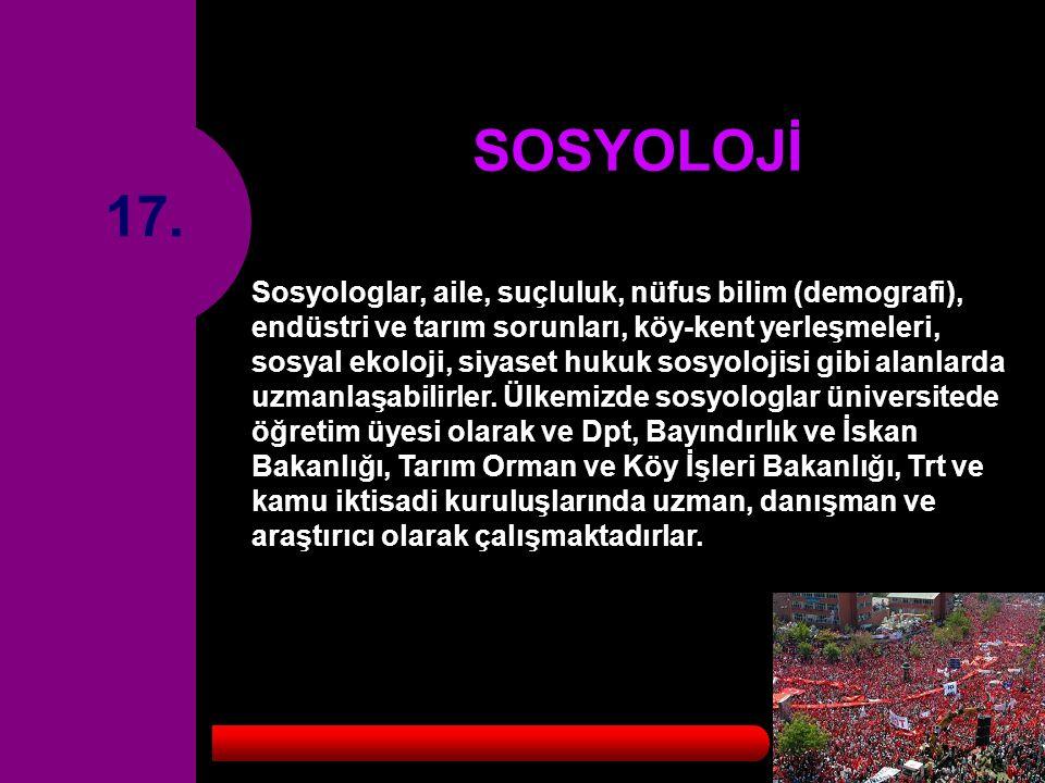 SOSYOLOJİ 17.