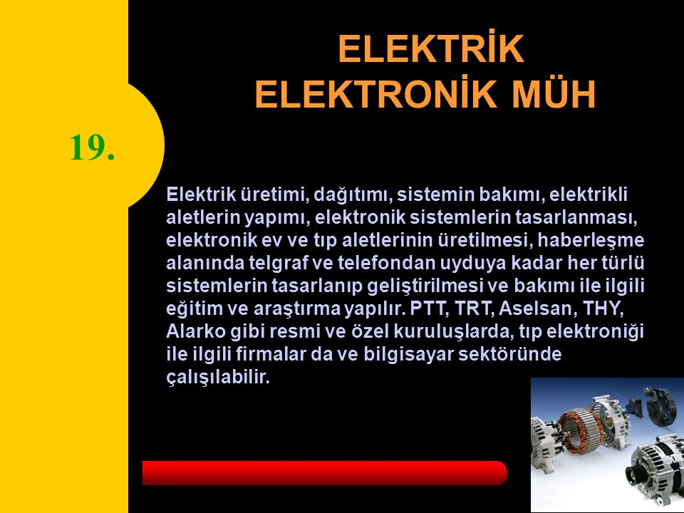 ELEKTRİK ELEKTRONİK MÜH