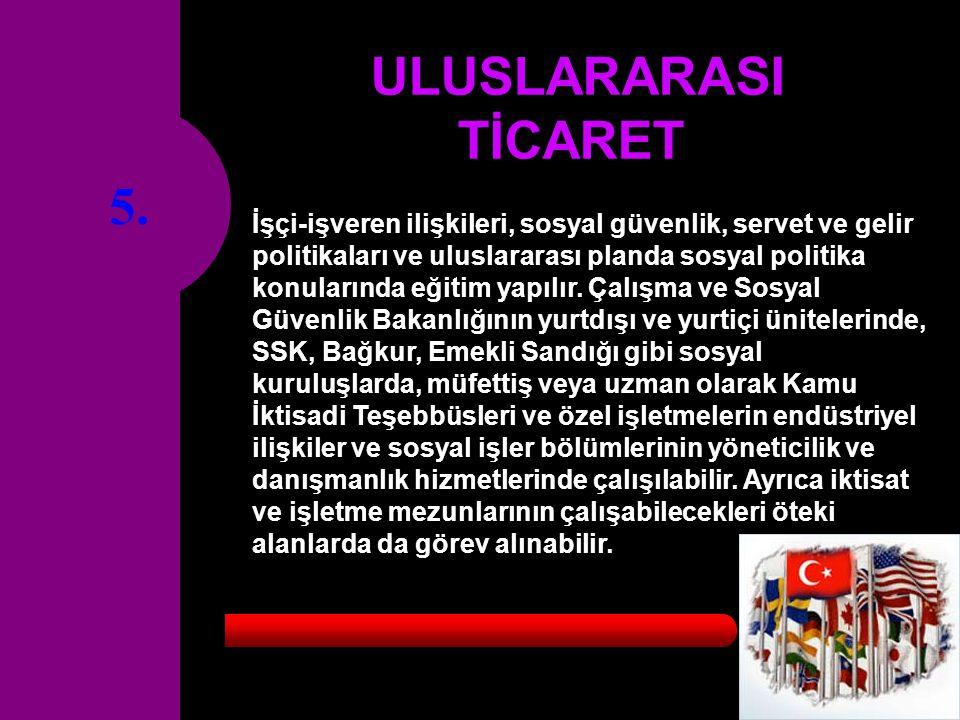 5. ULUSLARARASI TİCARET.
