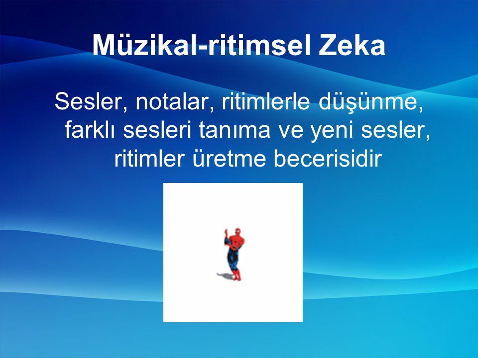 Müzikal-ritimsel Zeka