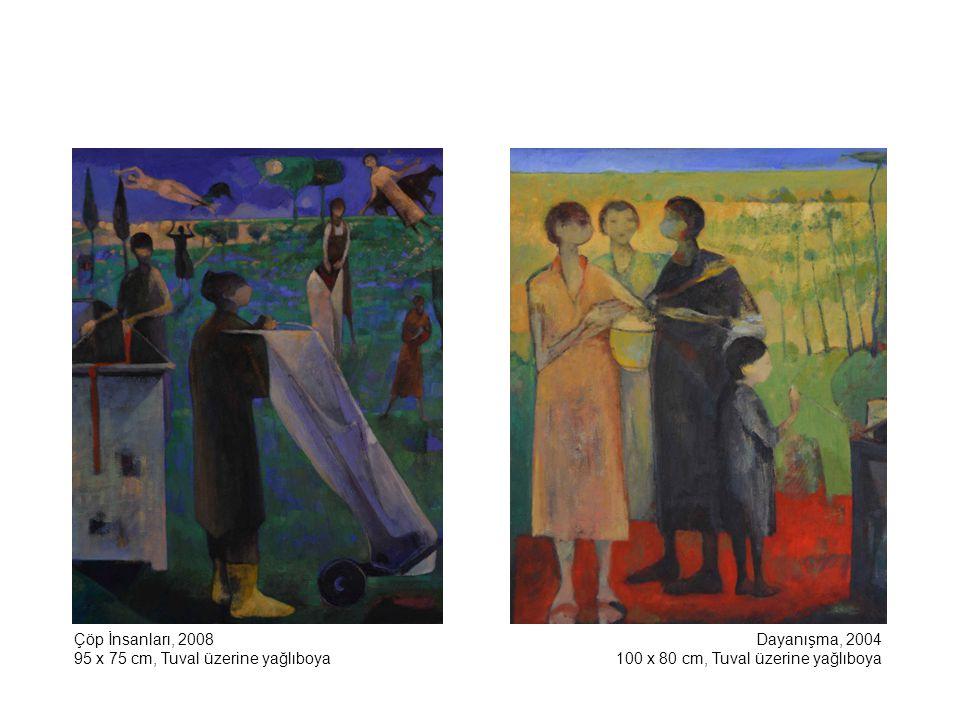 Çöp İnsanları, 2008 95 x 75 cm, Tuval üzerine yağlıboya.
