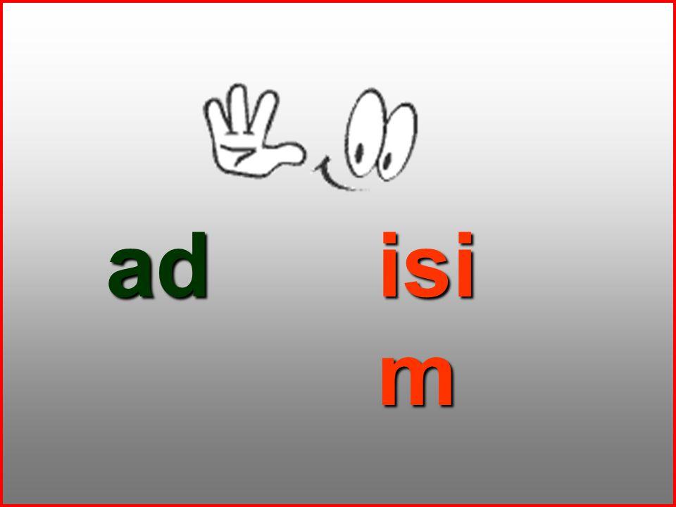 ad isim