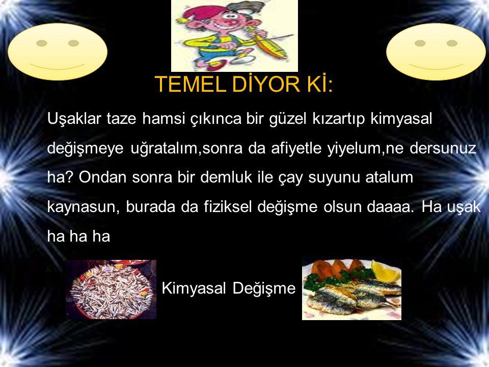 TEMEL DİYOR Kİ:
