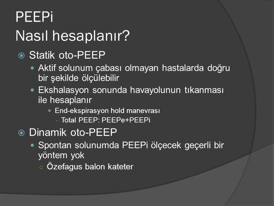 PEEPi Nasıl hesaplanır