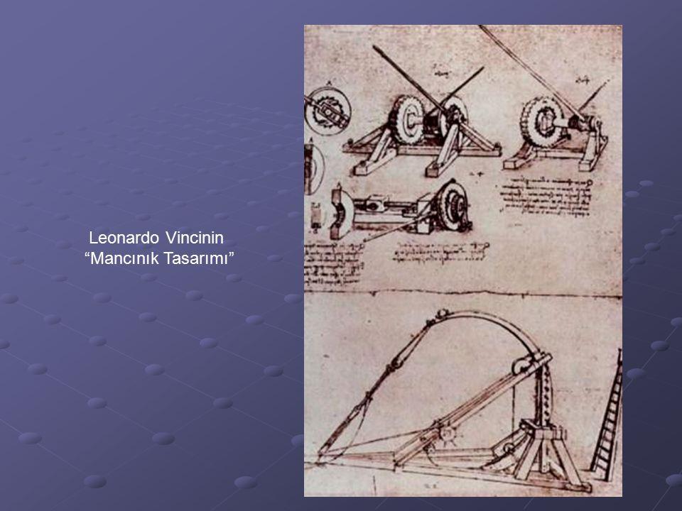 Leonardo Vincinin Mancınık Tasarımı