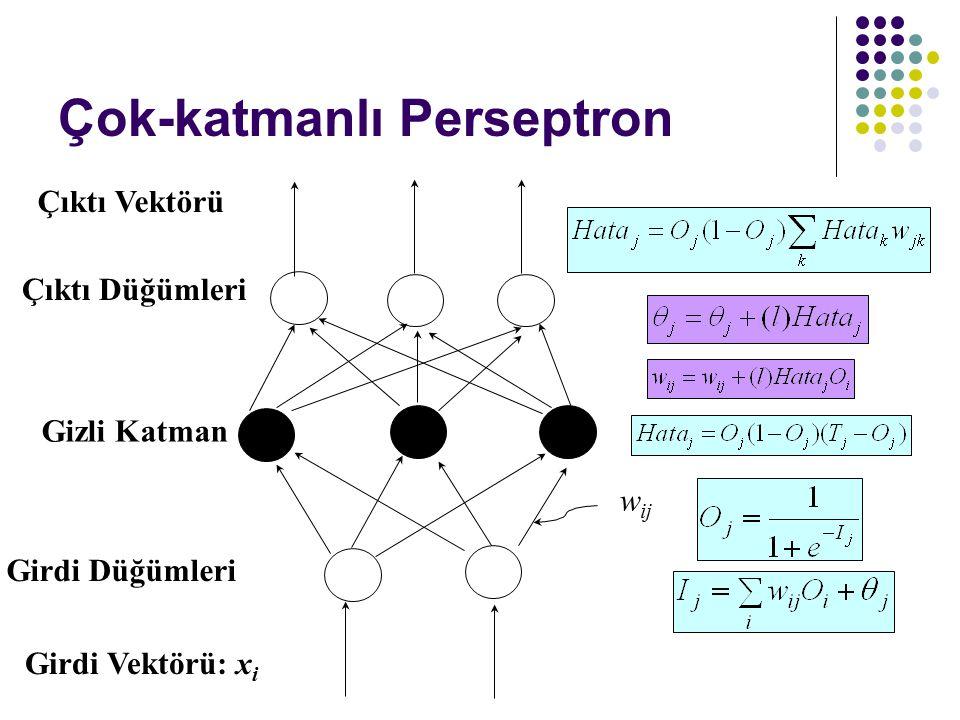 Çok-katmanlı Perseptron