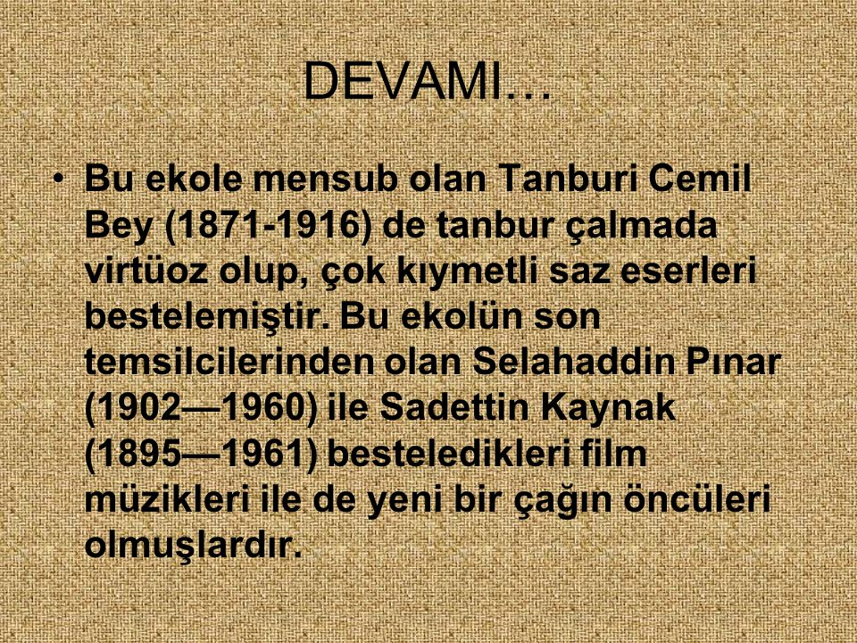 DEVAMI…