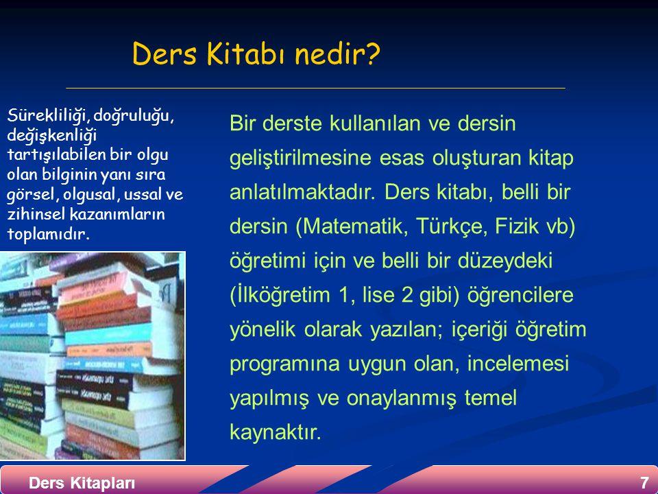Ders Kitabı nedir