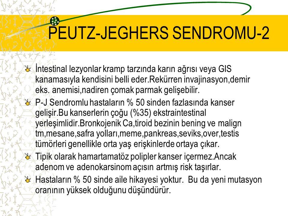 PEUTZ-JEGHERS SENDROMU-2
