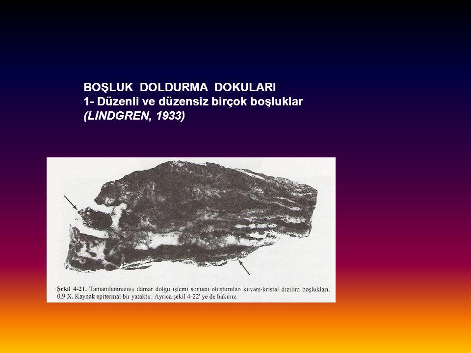 BOŞLUK DOLDURMA DOKULARI
