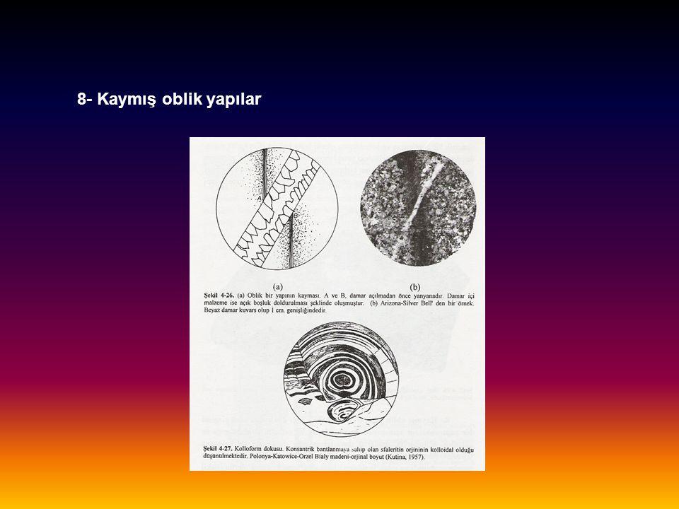 8- Kaymış oblik yapılar