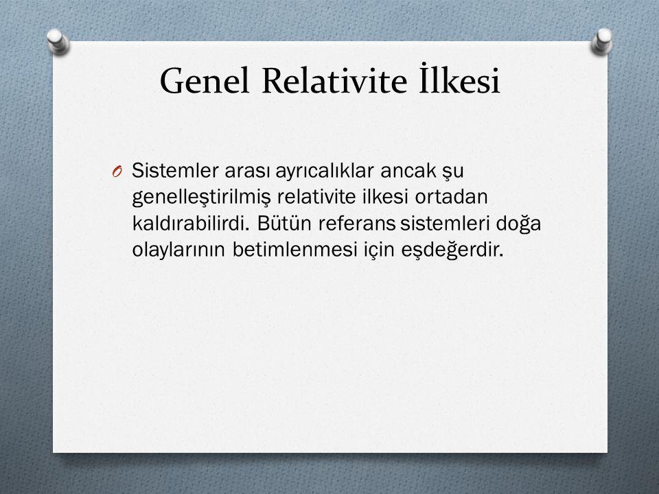 Genel Relativite İlkesi