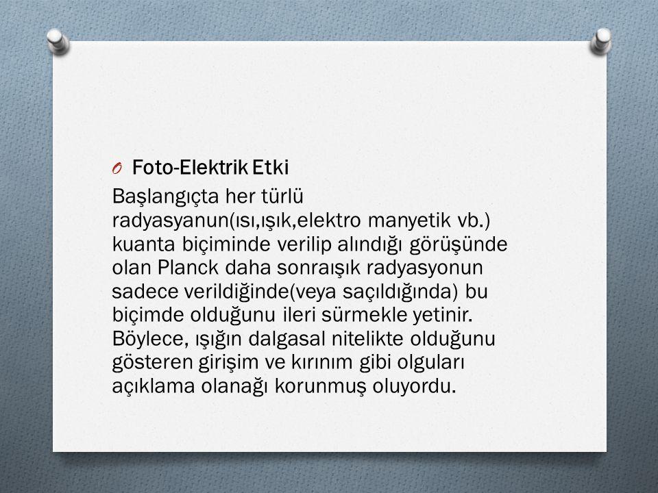 Foto-Elektrik Etki