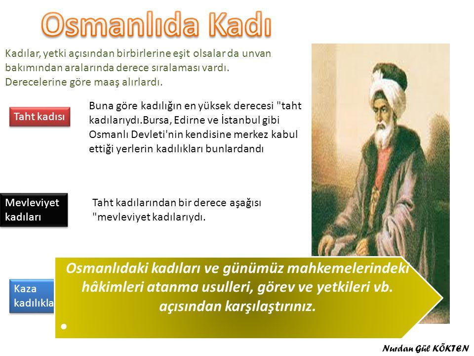 Osmanlıda Kadı