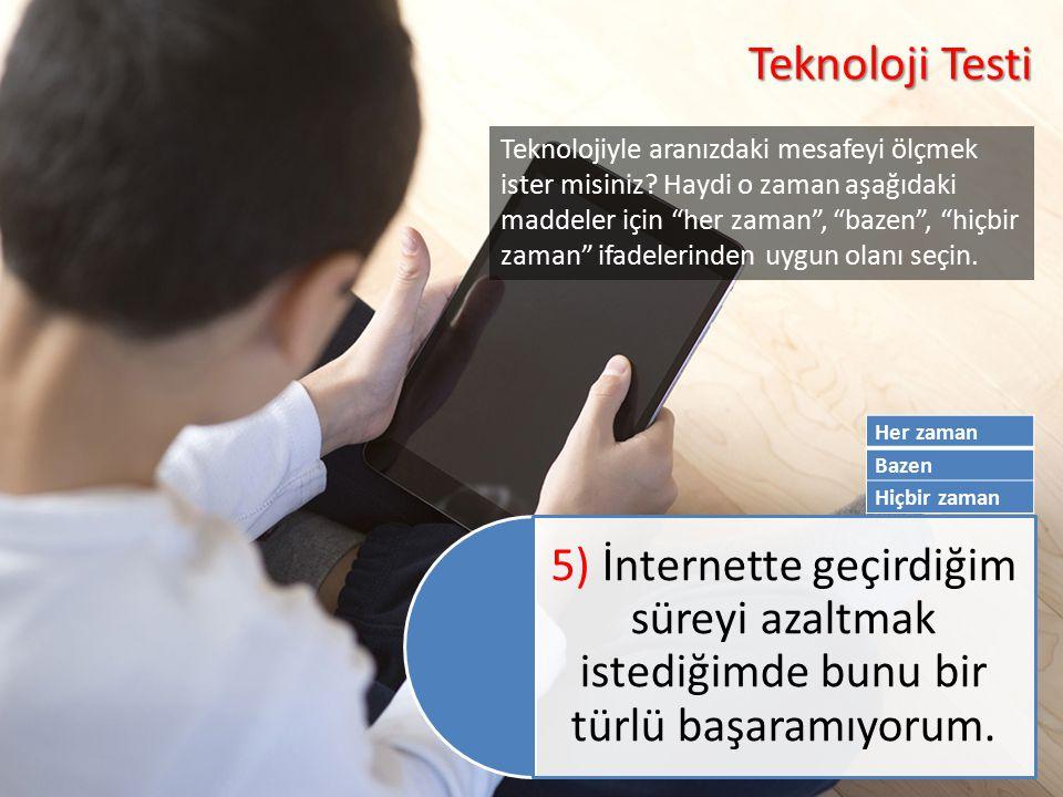 Teknoloji Testi