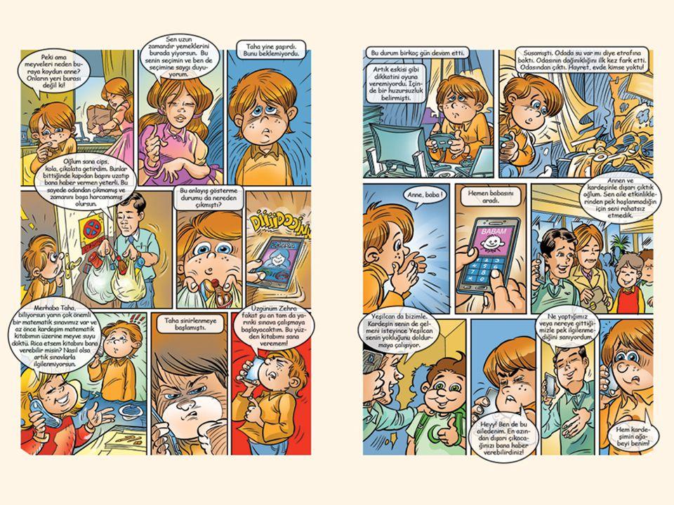 Ayrıca bakınız: Yeşilcan'la Zararsız Teknoloji adlı Yeşilay tarafından hazırlanmış kitapçık, s. 6-7.