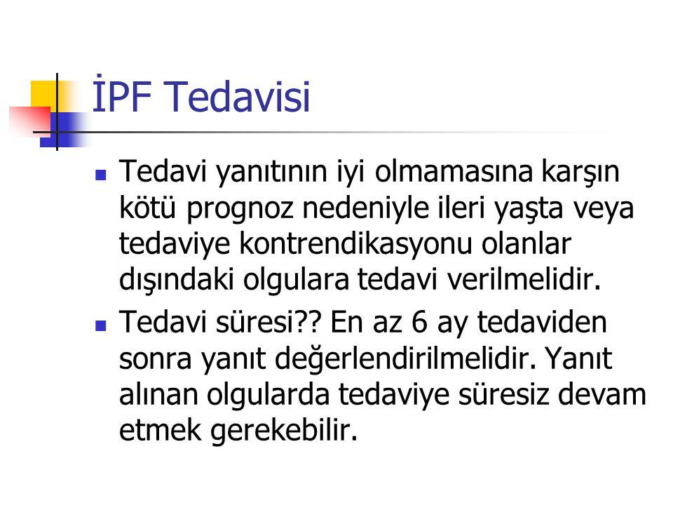 İPF Tedavisi